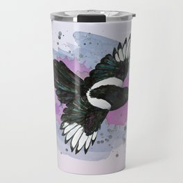 Flying magpie Travel Mug