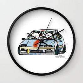 Crazy Car Art 0151 Wall Clock