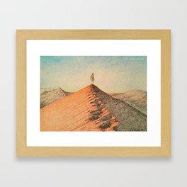 Sandy Namibia Framed Art Print