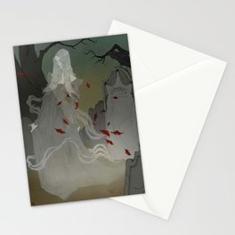 The Ghost of Lenore Stationery Cards