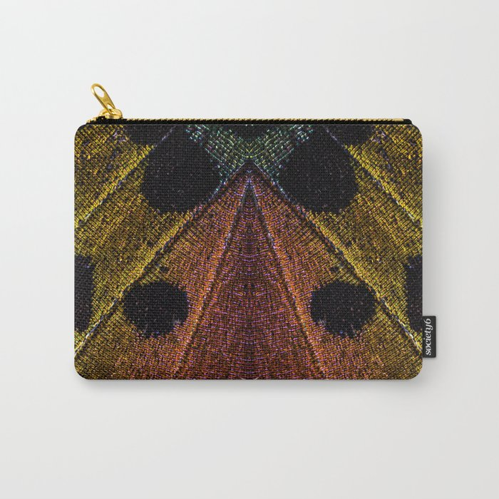 Butterflies Love Geometry Carry-All Pouch