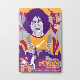 THE WARRIORS :: THE PUNKS Metal Print