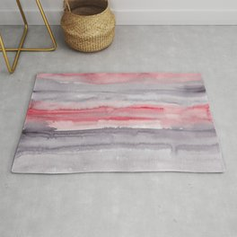 30     190907   Watercolor Abstract Painting Rug