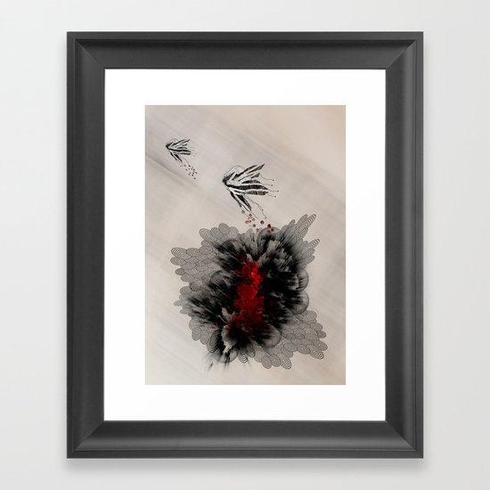 Notre petit trésor! Framed Art Print