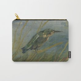 Kingfisher by the Waterside Carry-All Pouch