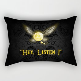 Hey Listen ! Rectangular Pillow