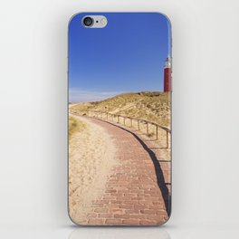 I - Lighthouse on the island of Texel in The Netherlands iPhone Skin