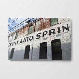 Allegheny West Industrial - color Metal Print
