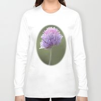 clover Long Sleeve T-shirts featuring Clover by Fran Walding