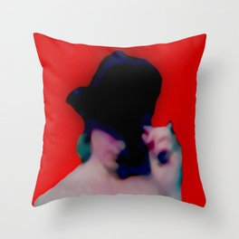 The Greeting 1 Throw Pillow