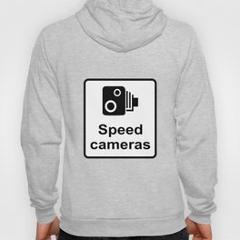 Speed Cameras Sign Hoody