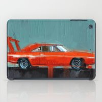 muscle iPad Cases featuring The red muscle by mystudio69