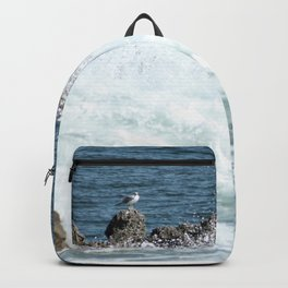 Lonely Seagull Backpack