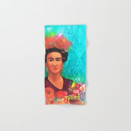 Frida Fragil y fuerte Hand & Bath Towel