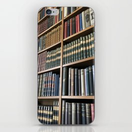 Books, lots of books iPhone Skin