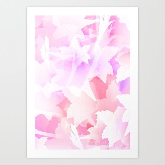 Sweet flowers Art Print