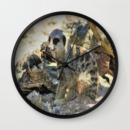 Sitting in the Shade Wall Clock