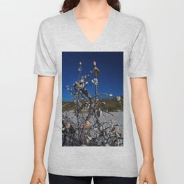 Treasures Abound- vertical Unisex V-Neck
