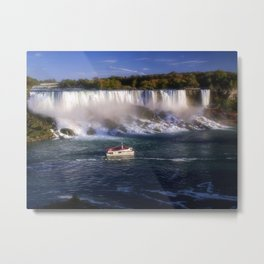 The Maid of the Falls Metal Print