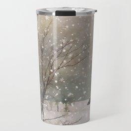 Snowfall Travel Mug