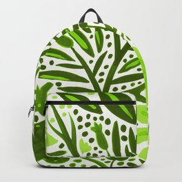 Garden – Lime Green Palette Backpack