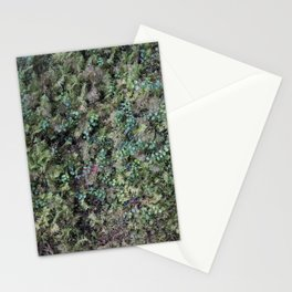 Deep into the Forest (moss, green grass) Stationery Cards