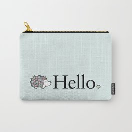 Hello Hedgehog Carry-All Pouch