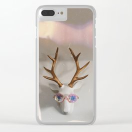 That 1970s Deer Clear iPhone Case
