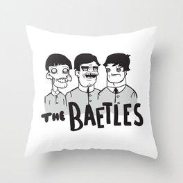 Legends Series: The Baetles Throw Pillow