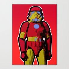 iron trooper Canvas Print