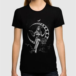 II. The High Priestess Tarot Card Illustration (Alternative Version) T-shirt