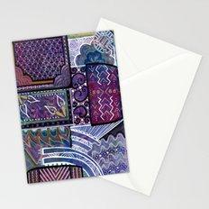 Purple Pandemonium Stationery Cards