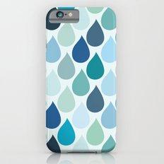 Blue rain iPhone 6s Slim Case