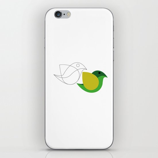 Bird is the word iPhone Skin