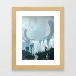 Rite Of Passage Framed Art Print