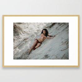 Amazon Woman III Framed Art Print