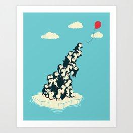 Balloon! Art Print