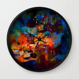 Italy 06-17 Wall Clock