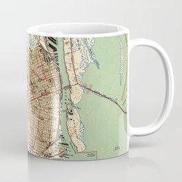 Vintage Map of Mobile Alabama (1940) 2 Coffee Mug