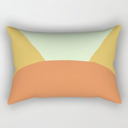 Deyoung Orange Rectangular Pillow