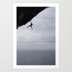 Cliffhanger Two by Boone Speed Art Print