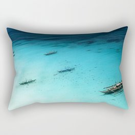 White Beach Boracay Rectangular Pillow