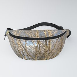 Tree in storm Fanny Pack