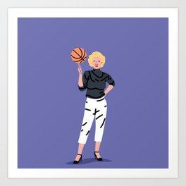 Balling Marilyn Art Print