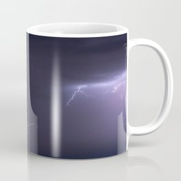 Summer Lightning Storm On The Prairie IV - Nature Landscape Coffee Mug
