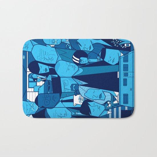 Breaking Bad (blue version) Bath Mat