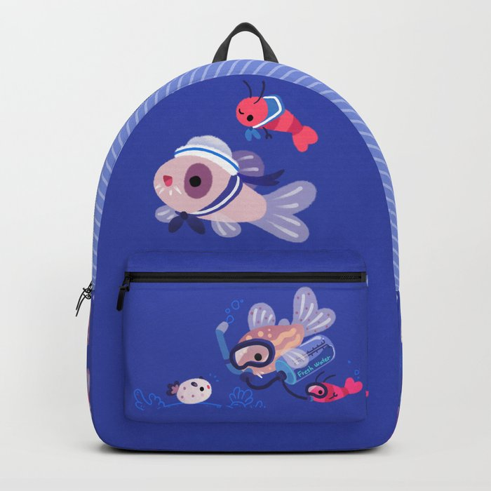 Cory cats on voyage Backpack