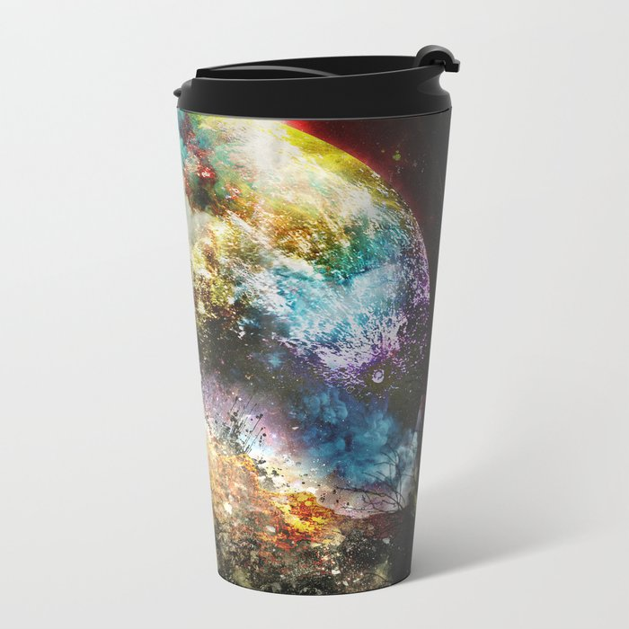 Oh what a great day Metal Travel Mug
