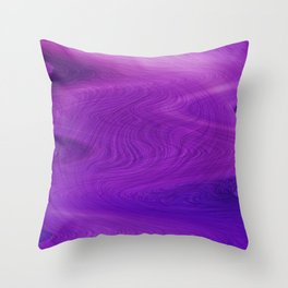 Purple daze 14 Throw Pillow