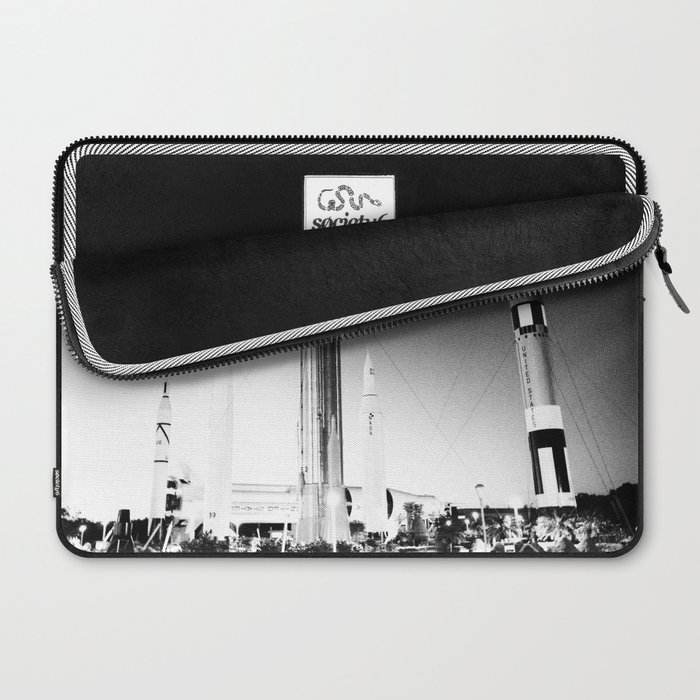 Rocket to the Moon Laptop Sleeve